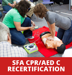 Standard First Aid with CPR / AED C Recertification Course in Toronto