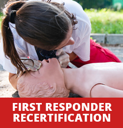 First Responder Recertification Course